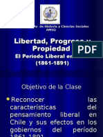 Período liberal en chile 1861-1891