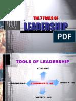 7 TOOLS of Leadership