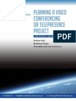 Planning a Video Conferencing or Telepresence Project