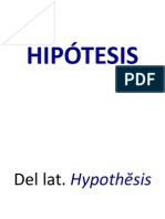 HIPÓTESIS. MK