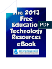 EmergingEdTech's 2013 Free Education Technology Resources eBook