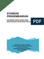 Standar Pengembangan Kkg Mgmp