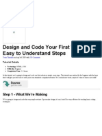 Design and Code Your First Website