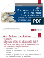 Quiz Business Combinations