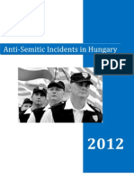 Antisemitic Incidents Hungary 2012 En