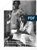 An Ethnography of Cosmopolitanism in Kingston, Jamaica (foreword)