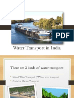 Water Transport in India