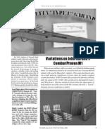 Firearms Beretta 'Type E' Garand