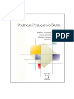 Hochman, Gilberto - Políticas públicas no Brasil