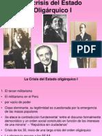 6.- Crisis del orden oligárquico