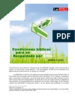 Condiciones bíblicas para un divorcio respaldado por Dios (Armando H. Toledo)