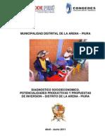 Diagnostico Socioeconomico La Arena