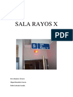 Documento de Sala de Rayos x Importante