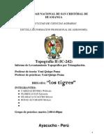 Informe Tecnico de La Triangulacion Final