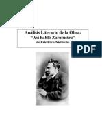 Analisis Literario Obra Zaratustra