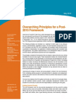 Overarching Principles for a Post-2015 Framework