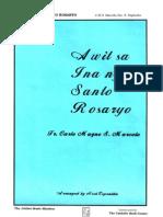 Awit Sa Ina Ng Sto Rosario