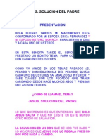 JESUS SOLUCION DEL PADRE 2 (Autoguardado).doc