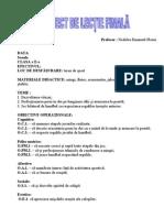 proiect didactic handball