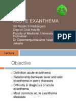 Acute Exanthema