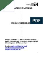 SP Module Handbook - October 20111[1]