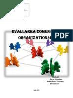Evaluarea comunicării organizaţionale