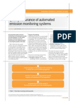Automated Emission Monitoring System