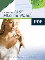 Benefits of Alkaline Water eBook