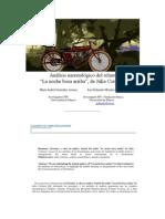 Análisis narratológico del relato- Cortazar