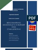 Caso Practico Benchmarking Mc y Burguer