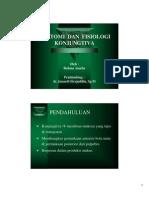 Sari Pustaka - Anatomi Dan Fisiologi Konjungtiva, Rahma Amelia, Junaedi Sirajuddin