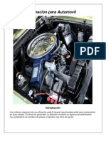 Manual de Afinacion Para Su Automovil