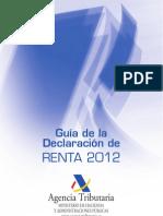 Guia Renta 2012