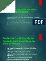 LA EVALUACIÓN AUTÉNTICA DE LOS APRENDIZAJES