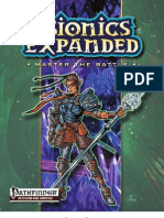 Psionics Expanded - Master the Battle