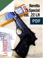 Beretta Mod. 71 Special Cal.22