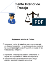 12.Reglamento Interior de Trabajo