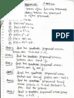 Polynomials 3