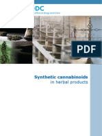 UNODC ‖ Synthetic Cannabinoids in Herbal Products