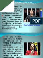 LEI 12014 DE 2009 - FÁTIMA CLEIDE - DICURSO DA SENADORA NA PROMULGAÇÃO DA LEI