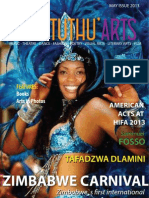 Kwantunthu Arts Magazine May 2013