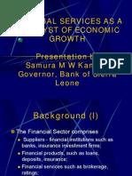 FIN_SERVICES & Economic Development