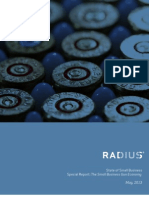 Radius Small Business Report May 2013