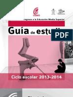 Guya de Estudios Nuevo Ingreso 2013