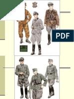 German Waffen-SS, Luftwaffe & Navy Commanders (Uniforms)