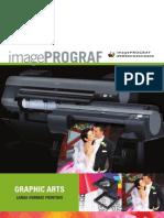 Product Brochure on Canon imagePROGRAF iPF8300, iPF6350, & iPF6300