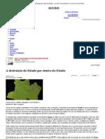 A destruição do Estado por dentro do Estado - Jornal Correio do Brasil _ Jornal Correio do Brasil