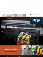Product Brochure for the iPF8300S & iPF6300S