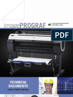 Product Brochure for the iPF765 & iPF760