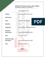 Informe 1 Segunda Ley de Newton UTP